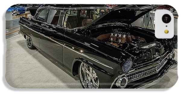IPhone 5c Case featuring the photograph 1955 Ford Customline by Randy Scherkenbach