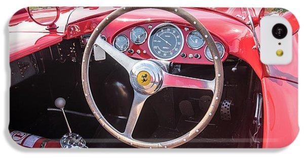 IPhone 5c Case featuring the photograph 1956 Ferrari 290mm - 4 by Randy Scherkenbach