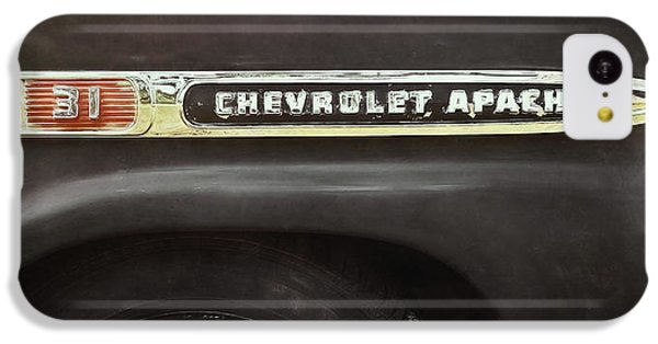 Truck iPhone 5c Case - 1959 Chevy Apache by Scott Norris