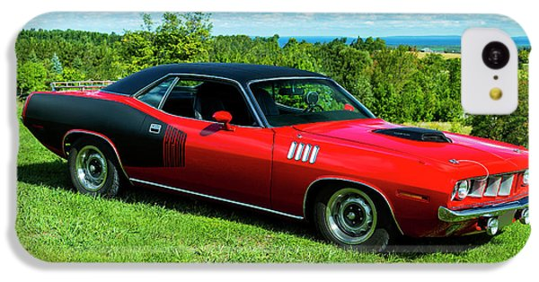 1971 Plymouth IPhone 5c Case by Performance Image