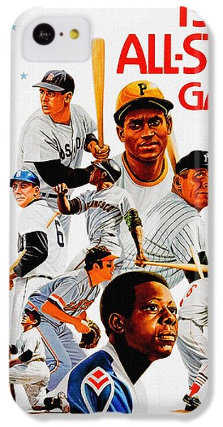 1974 Baseball All Star Game Program IPhone 5c Case