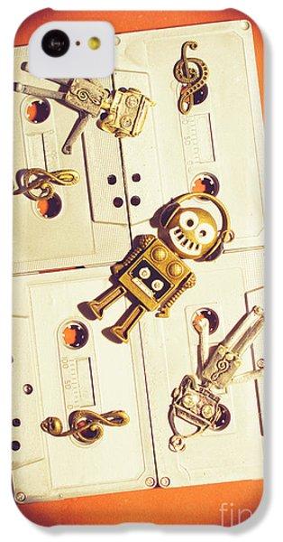Sound iPhone 5c Case - 1980s Robot Dancer by Jorgo Photography - Wall Art Gallery