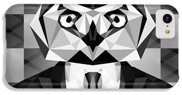 Abstract Owl IPhone 5c Case