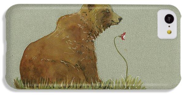 Alaskan Grizzly Bear IPhone 5c Case