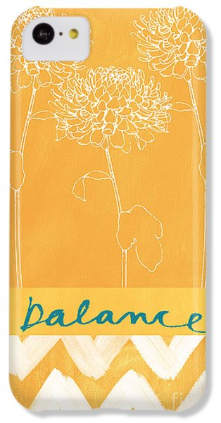 Balance IPhone 5c Case by Linda Woods
