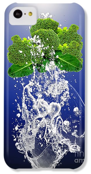 Broccoli Splash IPhone 5c Case