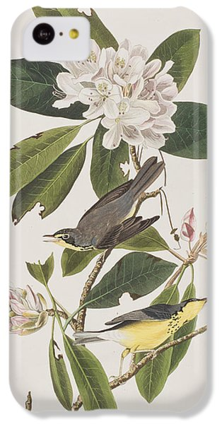 Canada Warbler IPhone 5c Case by John James Audubon