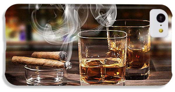 Cigar And Alcohol Collection IPhone 5c Case by Marvin Blaine