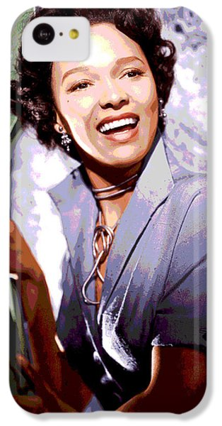 Dorothy Dandridge IPhone 5c Case by Charles Shoup