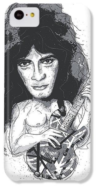 Eddie Van Halen IPhone 5c Case by Gary Bodnar