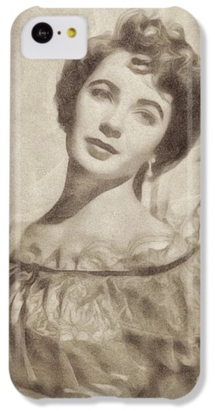 Elizabeth Taylor, Vintage Hollywood Legend By John Springfield IPhone 5c Case