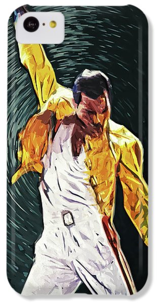 Freddie Mercury IPhone 5c Case