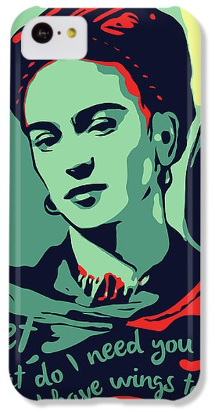 Folk Art iPhone 5c Case - Frida Kahlo by Greatom London