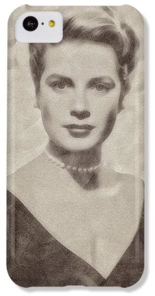 Grace Kelly iPhone 5c Case - Grace Kelly, Actress And Princess by John Springfield