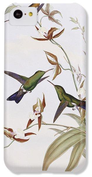 Humming Bird iPhone 5c Case - Hummingbirds by John Gould