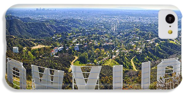Iconic Hollywood  IPhone 5c Case by Art K