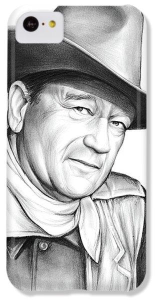 Universities iPhone 5c Case - John Wayne by Greg Joens