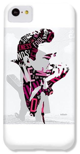 Johnny Cash Song Lyric I Walk The Line IPhone 5c Case