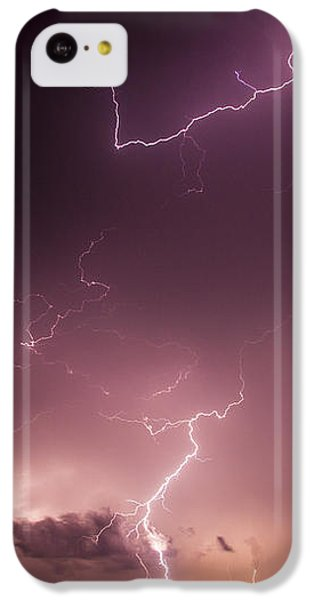 Nebraskasc iPhone 5c Case - Late July Storm Chasing 057 by NebraskaSC