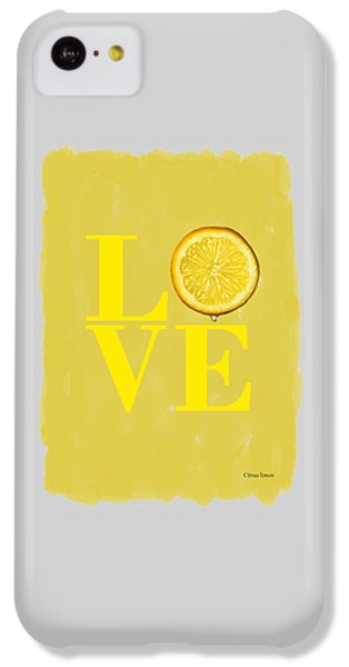 Lemon IPhone 5c Case