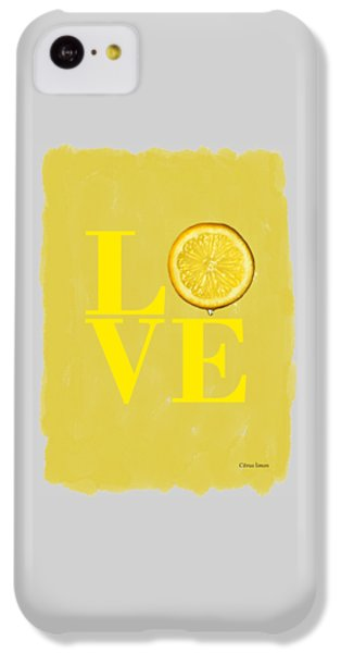 Lemon IPhone 5c Case by Mark Rogan