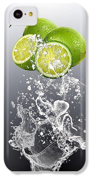 Lime Splash IPhone 5c Case