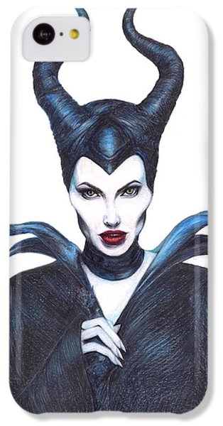 Maleficent  Once Upon A Dream IPhone 5c Case by Kent Chua