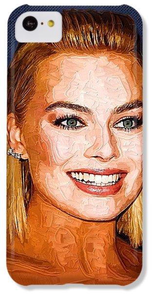 Margot Robbie Art IPhone 5c Case