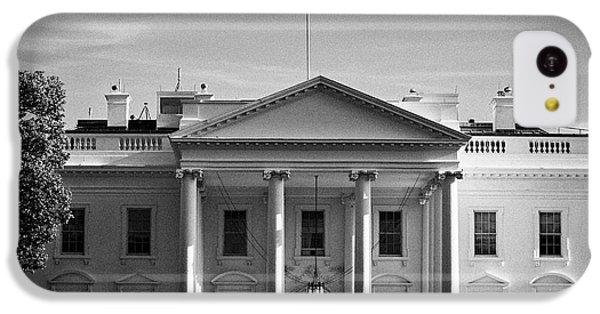 Whitehouse iPhone 5c Case - northern facade of the white house Washington DC USA by Joe Fox