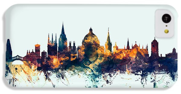 Oxford England Skyline IPhone 5c Case by Michael Tompsett
