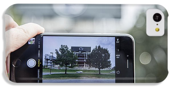 Penn State Beaver Stadium  IPhone 5c Case by John McGraw
