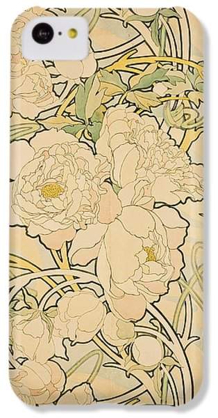 Peonies IPhone 5c Case