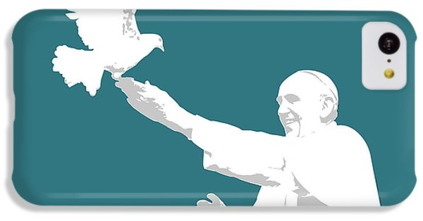 Pope Francis IPhone 5c Case by Greg Joens