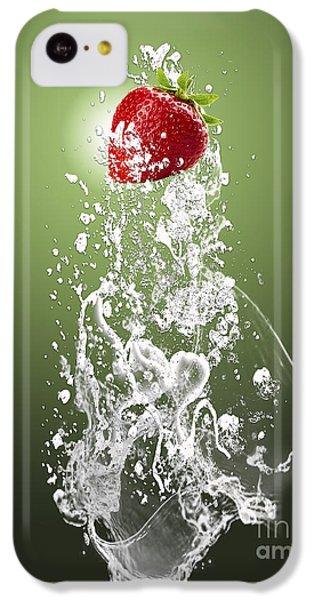 Strawberry Splash IPhone 5c Case