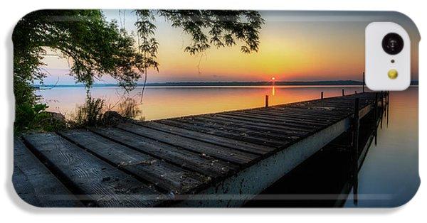Beautiful Sunrise iPhone 5c Case - Sunrise Over Cayuga Lake by Everet Regal