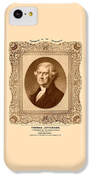 Thomas Jefferson IPhone 5c Case
