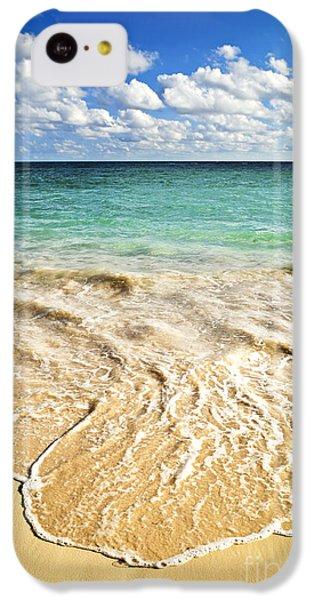 Beach iPhone 5c Case - Tropical Beach  by Elena Elisseeva