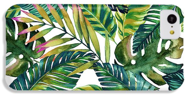 Tropical  IPhone 5c Case by Mark Ashkenazi