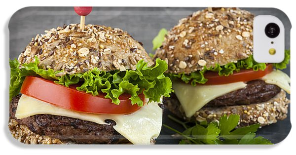 Two Gourmet Hamburgers IPhone 5c Case by Elena Elisseeva