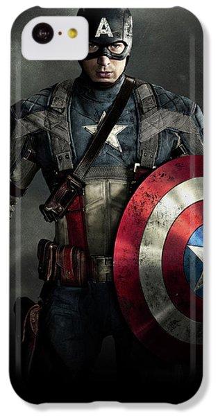 Ant iPhone 5c Case - Captain America Civil War 2016 by Fine Artist
