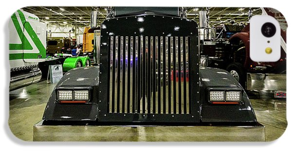 IPhone 5c Case featuring the photograph 2000 Kenworth W900 by Randy Scherkenbach
