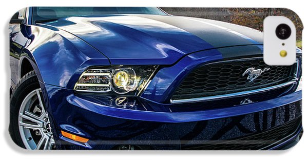IPhone 5c Case featuring the photograph 2014 Ford Mustang by Randy Scherkenbach
