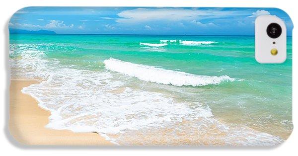 Beach iPhone 5c Case - Beach by MotHaiBaPhoto Prints