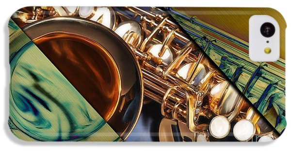 Saxophone Collection IPhone 5c Case