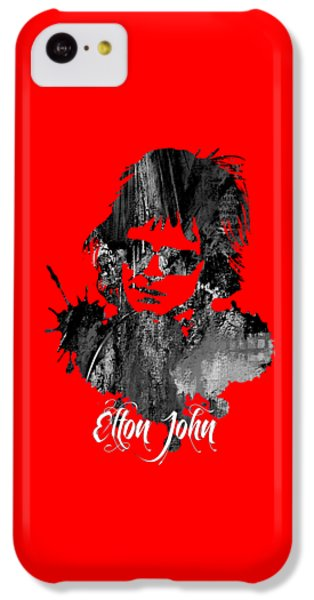 Elton John Collection IPhone 5c Case by Marvin Blaine