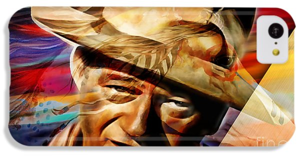 John Wayne Collection IPhone 5c Case by Marvin Blaine
