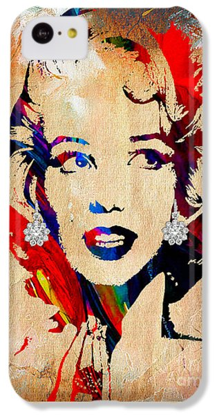 Marilyn Monroe Collection IPhone 5c Case by Marvin Blaine
