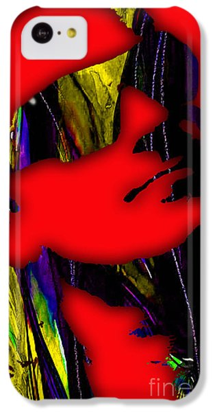 Bono iPhone 5c Case - Bono Collection by Marvin Blaine