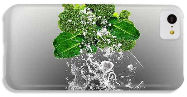 Broccoli Splash IPhone 5c Case