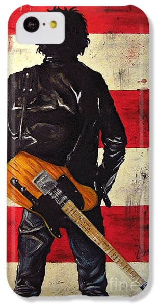 Bruce Springsteen IPhone 5c Case by Francesca Agostini